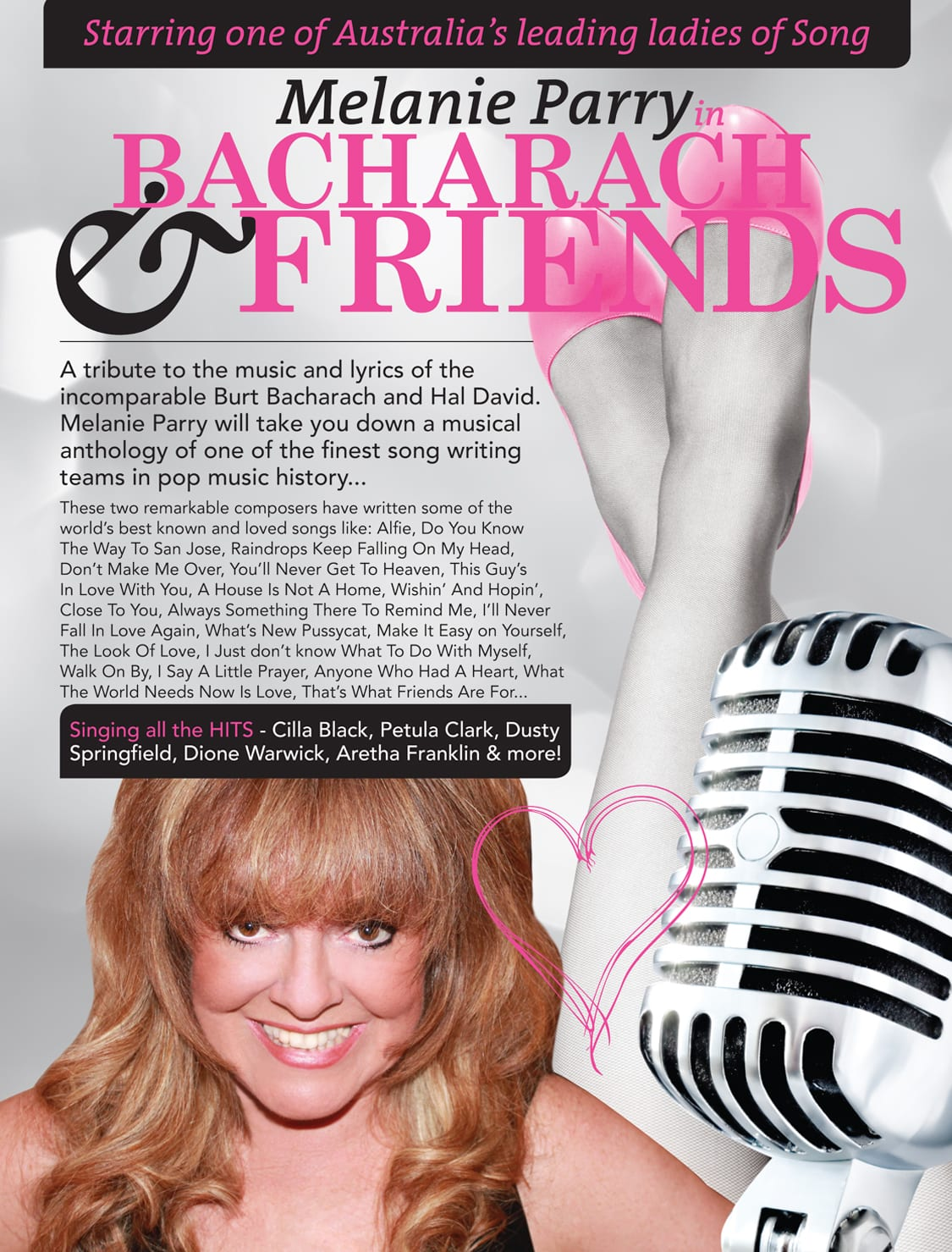 Bacharach and Friends Poster