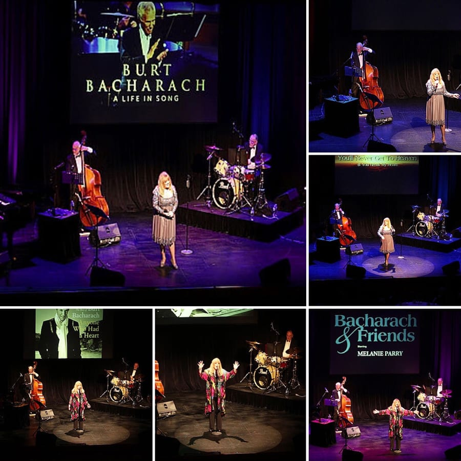 Burt Bacharach Show Collage