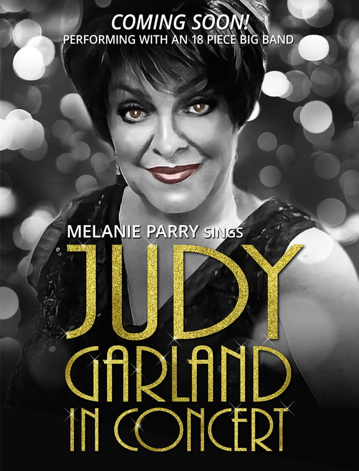 Melanie Parry Judy Garland In Concert