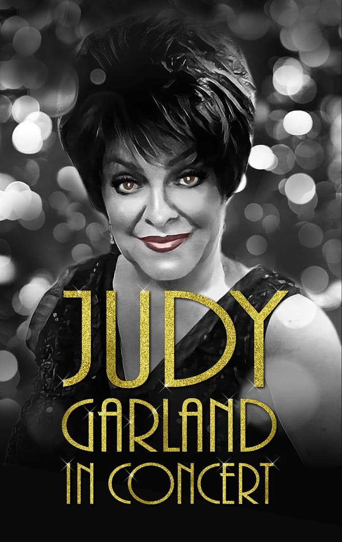 Melanie Parry Judy Garland In Concert Poster