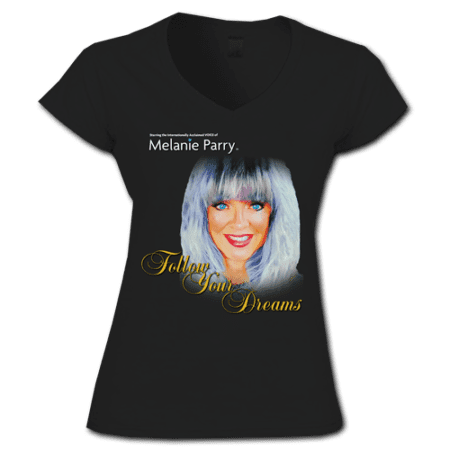 TShirt Follow Your Dreams Womens Black