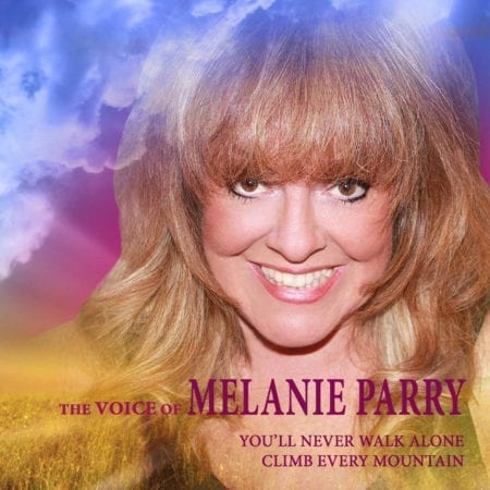 The Voice of Melanie Parry CD Cover